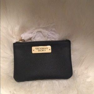 NWT Black victoria secret coin purse